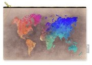 World Map Art  Carry-all Pouch