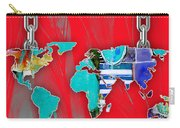 World Map Collection Carry-all Pouch