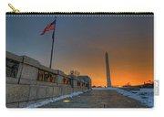 World War II Memorial Sunrise Carry-all Pouch