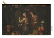 Wreath With Value And Abundance Carry-all Pouch