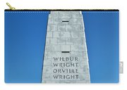 Wright Brothers Memorial Carry-all Pouch