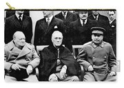 Yalta Conference, 1945 Carry-all Pouch by Granger