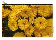 Yellow Chrysanthemums Carry-all Pouch