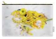 Yellow Gerbers Carry-all Pouch