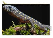Yellow Spotted Tropical Night Lizard Carry-all Pouch