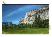 Yosemite Valley Meadow Panorama Carry-all Pouch