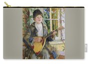 Young Boy With A Balalaika Nikolai Petrovich Bogdanov-belsky Carry-all Pouch