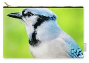 Blue Jay, Animal Portrait Carry-all Pouch