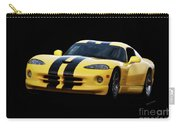 2001 Dodge Viper 'methenol Injected'  Carry-all Pouch