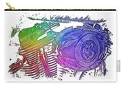 2007 Harley C 01 Cool Rainbow 3 Dimensional Carry-all Pouch