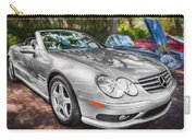 2008 Mercedes Benz Sl500 V8 Coupe Painted   Carry-all Pouch