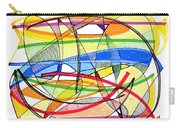 2010 Abstract Drawing Sixteen Carry-all Pouch