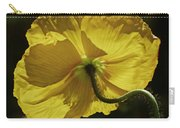 2011, Yellow Poppy Carry-all Pouch