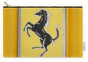 2012 Ferrari Hood Emblem Carry-all Pouch