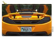 2012 Mc Laren Exhausts And Taillights Carry-all Pouch