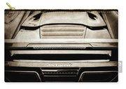 2015 Mclaren 650s Spider Rear Emblem -0011s Carry-all Pouch