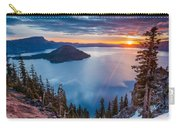2015 Spring Sunrise From Discovery Point Carry-all Pouch
