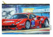 2016 Hankook 24h Epilog Brno Ferrari 488 Gt3 Winner Carry-all Pouch