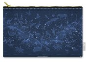 2017 Pi Day Star Chart Carree Projection Carry-all Pouch
