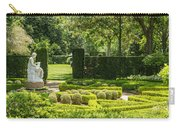201707040-001 Seated Woman Statue 4x5 Carry-all Pouch