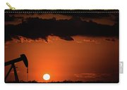 2017_08_midkiff Tx_sunset Pump Jack 2 Carry-all Pouch