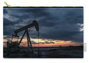 2017_08_midkiff Tx_sunset Pump Jack 4 Carry-all Pouch