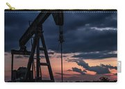 2017_08_midkiff Tx_sunset Pump Jack 7 Carry-all Pouch