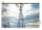 2017_08_midland Tx_windmill 2 Carry-all Pouch