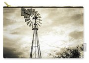 2017_08_midland Tx_windmill 3 Carry-all Pouch