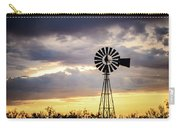 2017_09_midland Tx_windmill 3 Carry-all Pouch