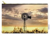 2017_09_midland Tx_windmill 6 Carry-all Pouch