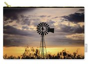 2017_09_midland Tx_windmill 9 Carry-all Pouch