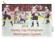 2018 Stanley Cup Champions Washington Capitals Carry-all Pouch