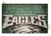 2018 Superbowl Eagles Barn Wall Carry-all Pouch