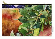 #203 Blue Oak Leaves 2 Carry-all Pouch