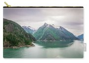 Glacier And Mountains Landscapes In Wild And Beautiful Alaska Carry-all Pouch