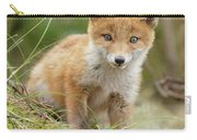 Red Fox Cub Carry-all Pouch