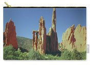 210806-h Spires In Garden Of The Gods Carry-all Pouch