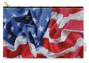 American Flag 40 Carry-all Pouch