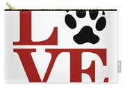 Love Claw Paw Sign Carry-all Pouch