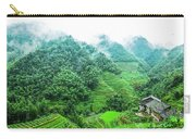 Mountain Scenery In The Mist Carry-all Pouch