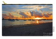 22- Sunset At Seagull Beach Carry-all Pouch