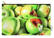 #227 Green Apples Carry-all Pouch