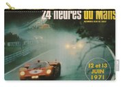 24 Hours Of Le Mans - 1971 Carry-all Pouch