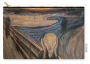The Scream Carry-all Pouch
