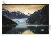 Sawyer Glacier At Tracy Arm Fjord In Alaska Panhandle Carry-all Pouch