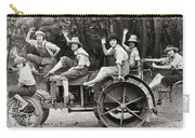 Silent Film: Automobiles Carry-all Pouch by Granger
