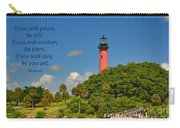 255- Becca Lee - Jupiter Lighthouse Carry-all Pouch