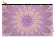 Psycho Hypno Floral Pattern Carry-all Pouch