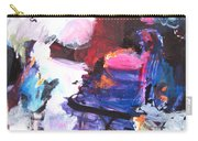 Abstract Landscape Painting Carry-all Pouch